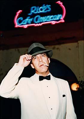 Bogart impersonator